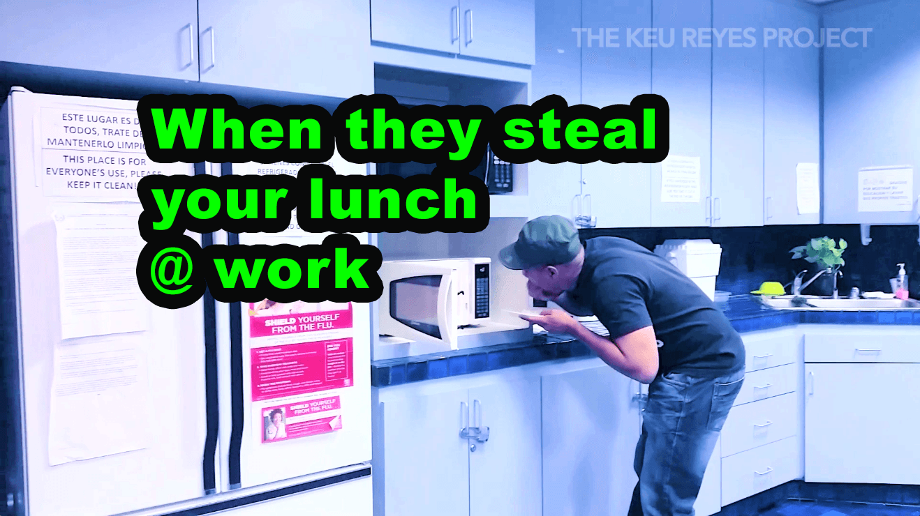 stealing lunch
