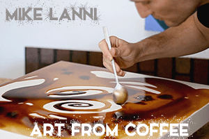 mike lanni coffee art