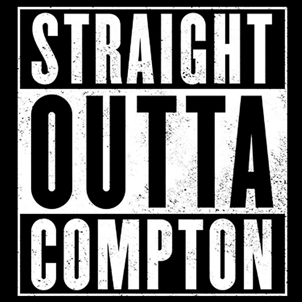 straight out of compton