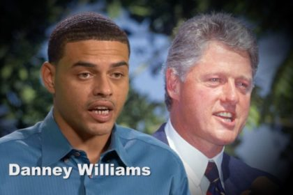 Danney Williams Bill Clinton Son