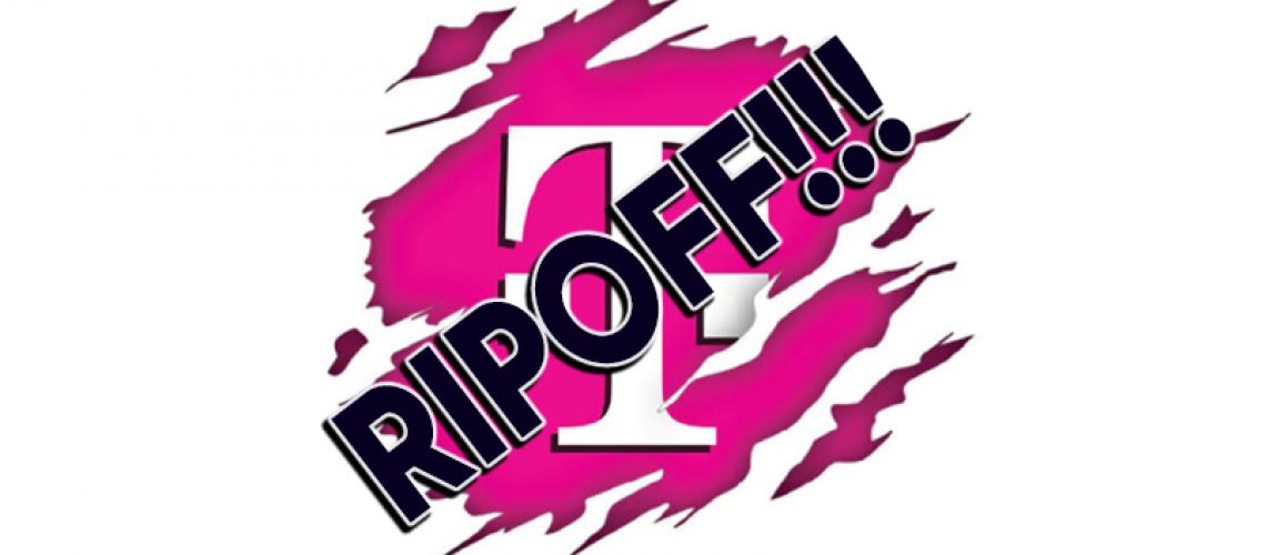 tmobile ripoff customers